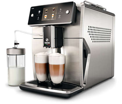 Найбільш вдосконалена кавомашина Saeco на цей час