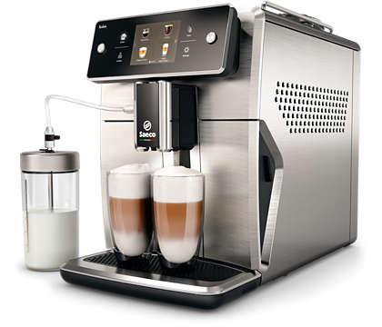 迄今最先進的 Saeco 義式咖啡機
