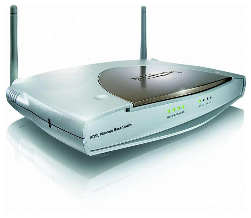 Inteligentní a jednoduché bezdrátové širokopásmové připojení