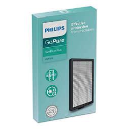 SaniFilter Plus 100 Filter voor luchtzuiveraar in de auto