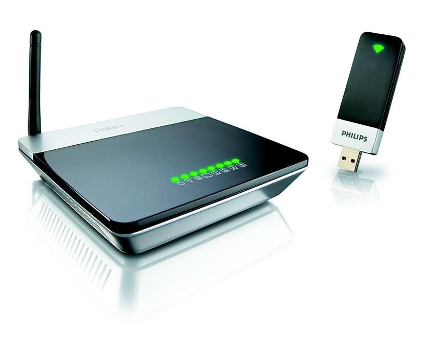 Startpakke til trådløst netværk