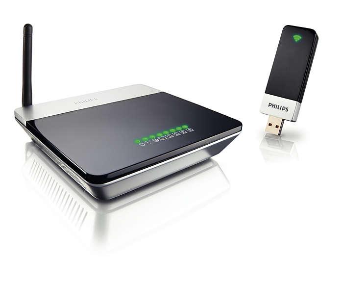 Kit de iniciação a redes sem fios