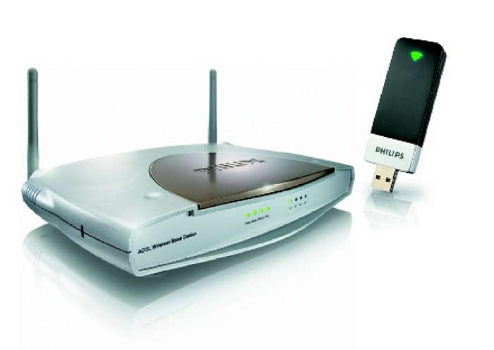 Vezeték nélküli hálózat indítókészlet