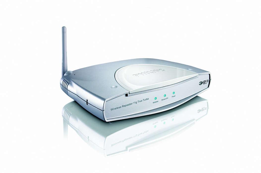 Smart og enkelt med trådløs bredbåndstilkobling