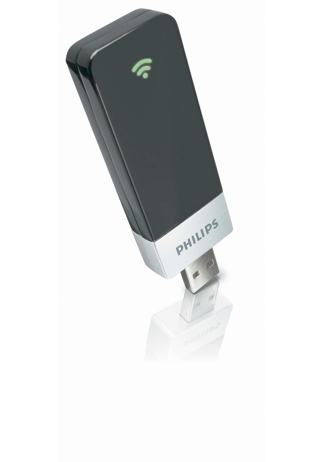 Draadloze USB-adapter