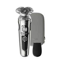 Shaver S9000 Prestige Nedves és száraz elektromos borotva Series 9000