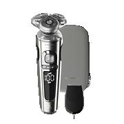 Shaver S9000 Prestige Nat en droog elektrisch scheerapparaat, 9000-serie