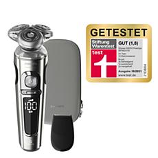 SP9820/18 Shaver S9000 Prestige Elektrischer Nass- und Trockenrasierer, Series9000