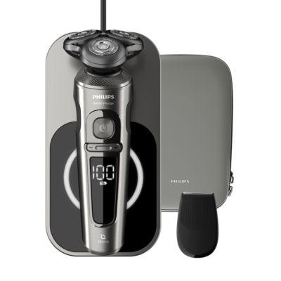 PHILIPS Shaver S9000 Prestige Parranajokone märkä- ja kuiva-ajoon, Series 9000 SP9860/13