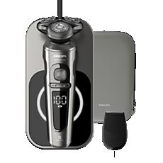 SP9860/13 Shaver S9000 Prestige Máquina barbear elétrica a húmido e seco, série 9000
