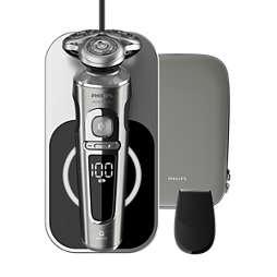 Shaver S9000 Prestige Serie 9000 de afeitadoras eléctricas Wet & Dry