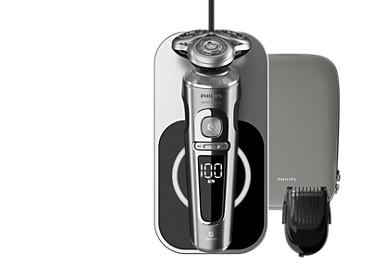 Shaver S9000 Prestige Для максимально чистого и комфортного бритья.