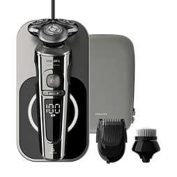 Shaver S9000 Prestige Elektr. skuveklis mitr. un saus. skūš., Series 9000