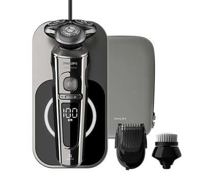 Descubra o barbear mais rente com uma máquina de barbear elétrica