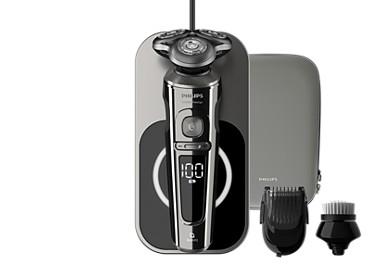 Shaver S9000 Prestige Для максимально чистого и комфортного бритья