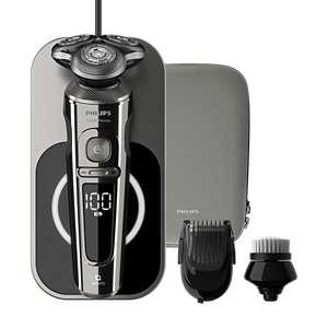 Shaver S9000 Prestige Rakapparat för våt- och torrakning, 9000-serien