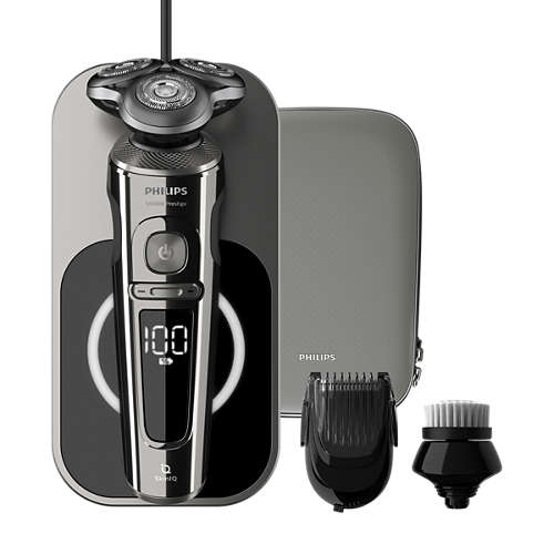 Shaver S9000 Prestige Parranajokone märkä- ja kuiva-ajoon, Series 9000