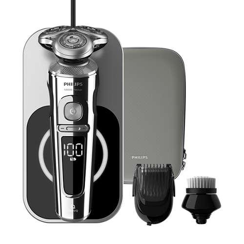 Serie 9000 de afeitadoras eléctricas Wet & Dry