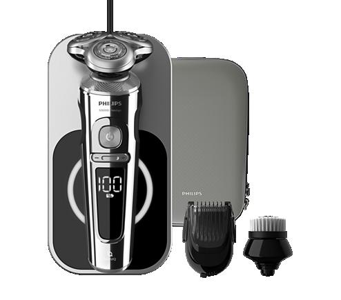 Shaver S9000 Prestige Máquina barbear elétrica a húmido e seco ... 2bbbdf16e3dd