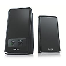 SPA1210NM/00  Multimedialuidsprekers 2.0