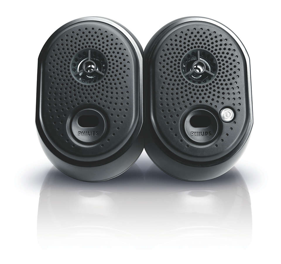 USB powered notebook speakers