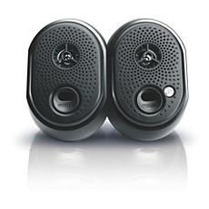 SPA1250/97  Notebook USB speakers