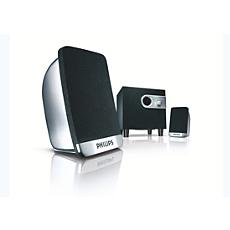 SPA1300/00 -    Multimedialuidsprekers 2.1