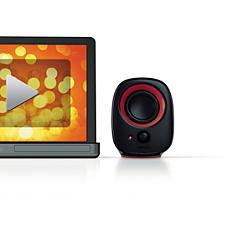 SPA2210R/10  Notebook USB speakers