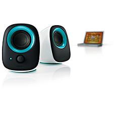SPA2210V/10 -    USB-högtalare för bärbar dator