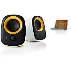 SPA2210/10 -    Nešiojamojo kompiuterio USB garsiakalbiai