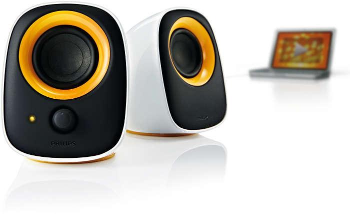 Стильный внешний вид и высокое качество звука!