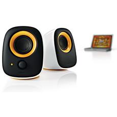 SPA2210/27  Notebook USB speakers
