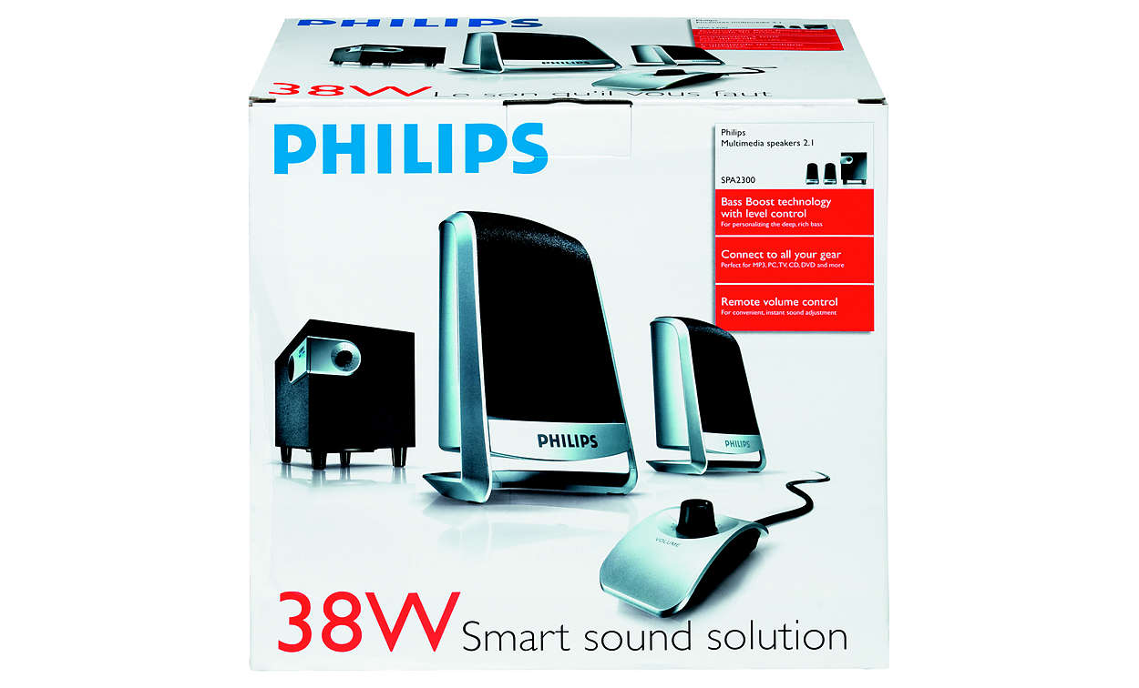 Multimedia Speakers 2 1