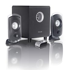SPA2320/00  Multimedia Speakers 2.1