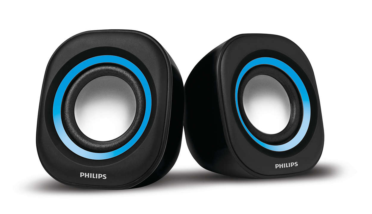 notebook usb speakers spa25a 94 philips