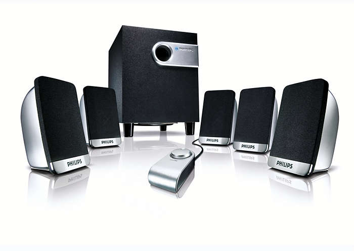 Solución de sonido Surround inteligente