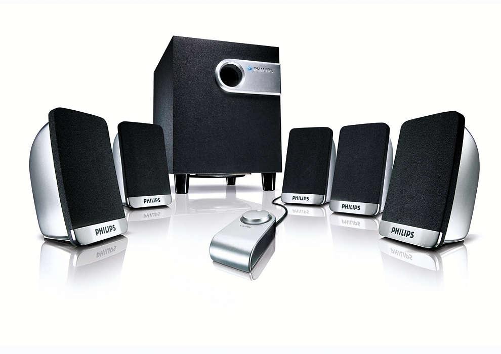 Inteligentne rozwiązanie dźwięku przestrzennego