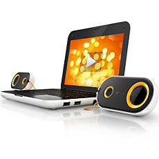 SPA4210/10 -    Notebook USB speakers