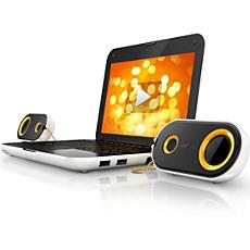 SPA4210/10 -    Altavoces USB para ordenador portátil