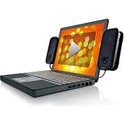 Parlantes USB para notebooks