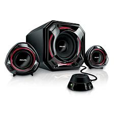 SPA5300/05  Multimedia Speakers 2.1