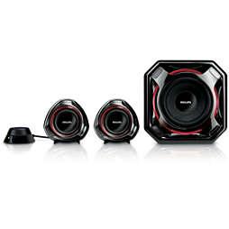 Multimedia Speakers 2.1