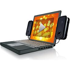 SPA6200U/10  USB-Notebook-Lautsprecher