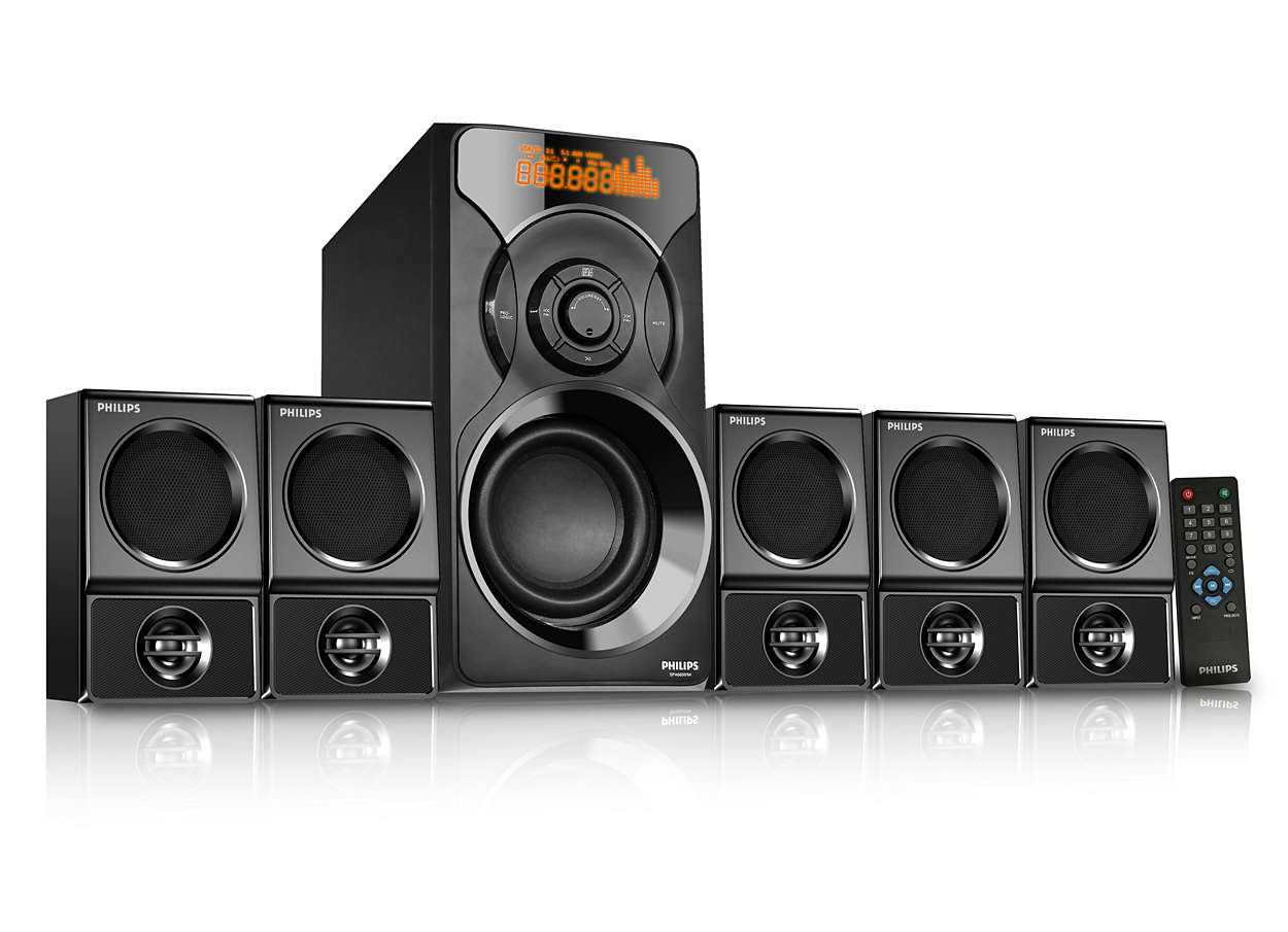 b95496995c1 Multimedia Speaker 5.1 SPA6700B 94