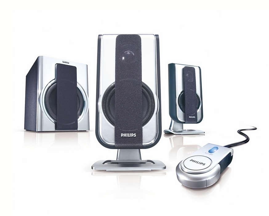 Naturtro lyd med høy kvalitet