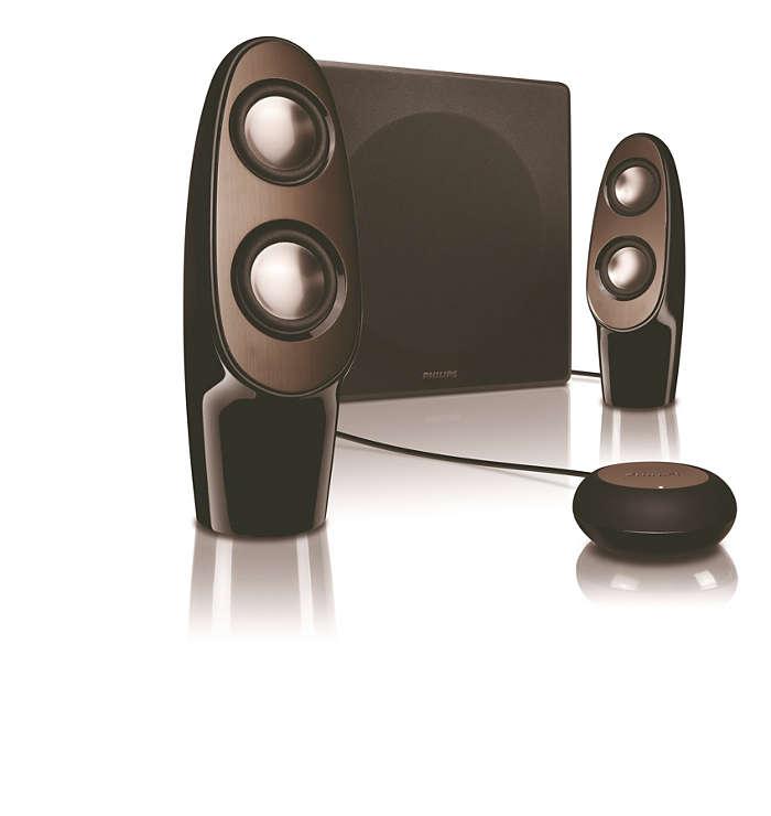 Fantastiskt ljud från alla håll!