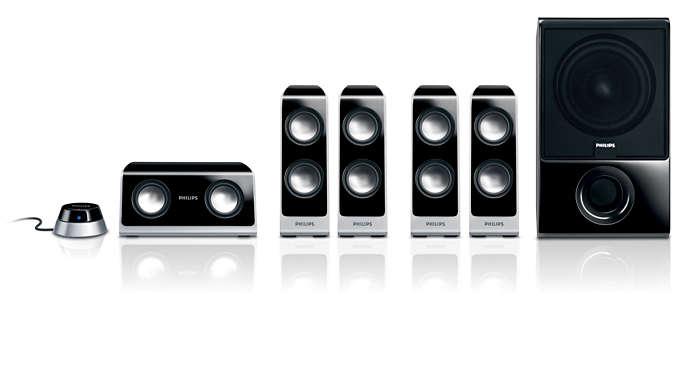Hi-Fi surround sound