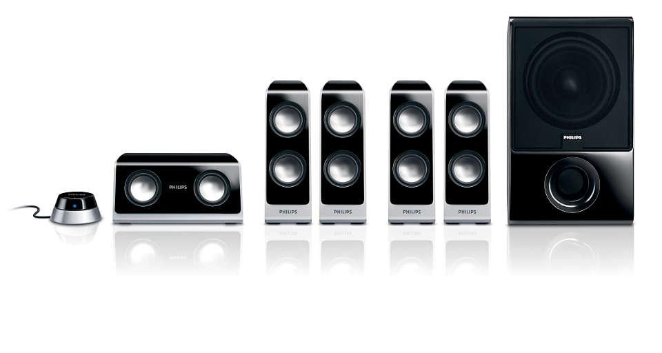 Multimedia Speaker 5.1 SPA765010 | Philips