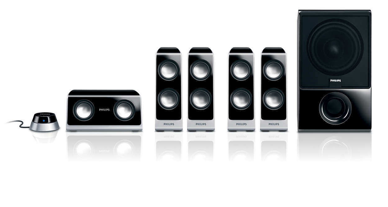 Multimedia Speaker 5.1 SPA7650/10 | Philips