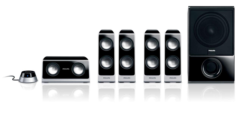 Audio surround Hi-fi